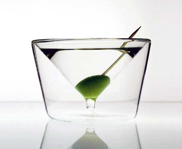 creative martini glass