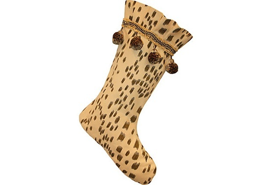 leopard print stocking