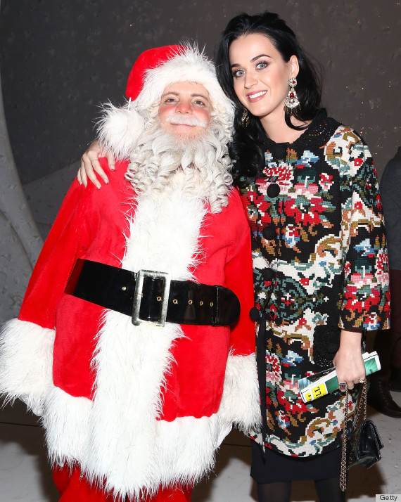 """Katy Perry And John Mayer Attend """"A Christmas Story, The Musical"""" Broadway Performance"""