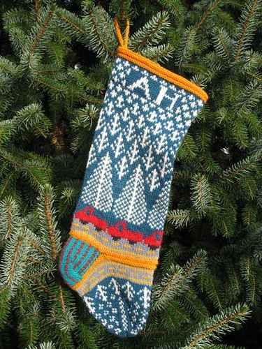 stitched stocking