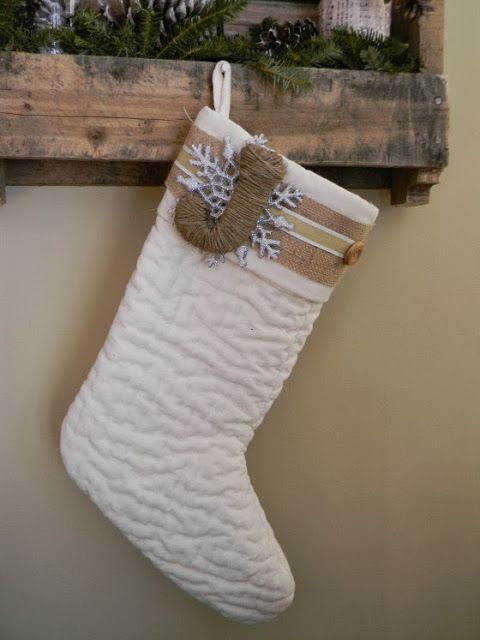 white stocking