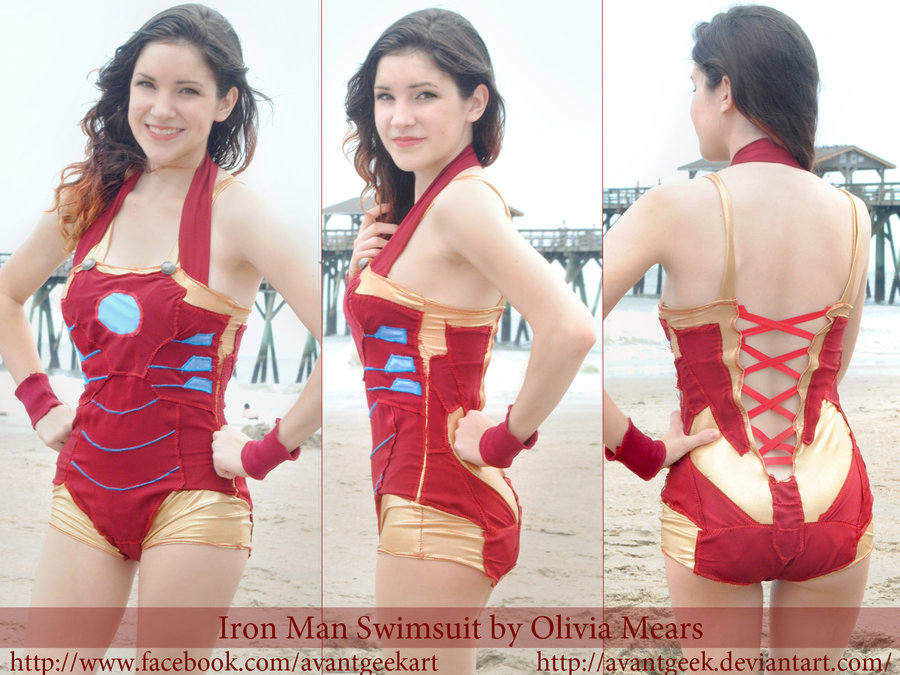 DIY Iron Man Swimsuit