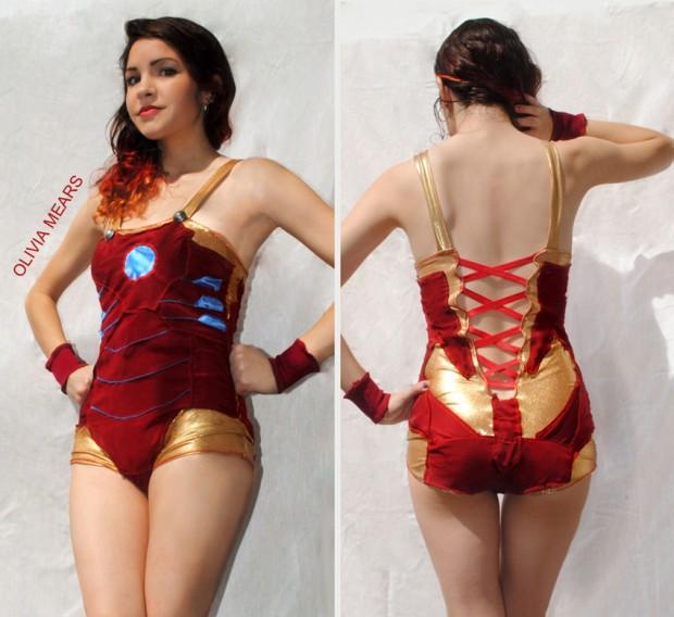 DIY Swimsuit for Iron Man