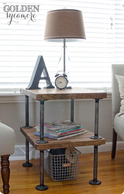 DIY-industrial-side-table-knockoff