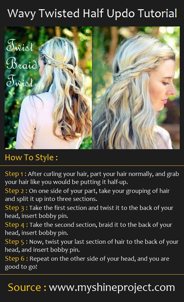 Hairstyles for Long Hair Step by Step-19
