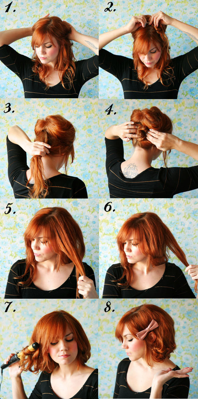 Hairstyles for Long Hair Step by Step-2
