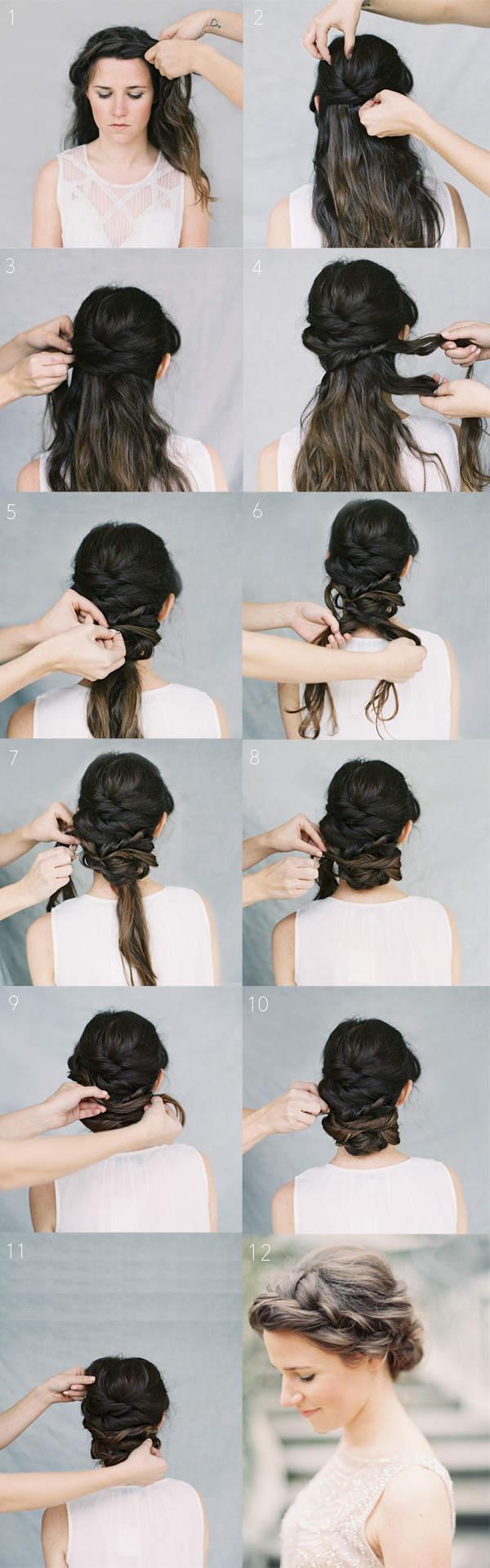 Hairstyles for Long Hair Step by Step-21
