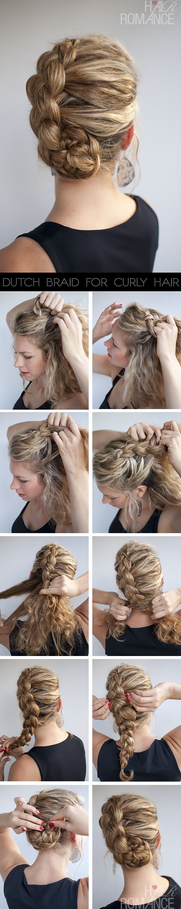 Hairstyles for Long Hair Step by Step-7
