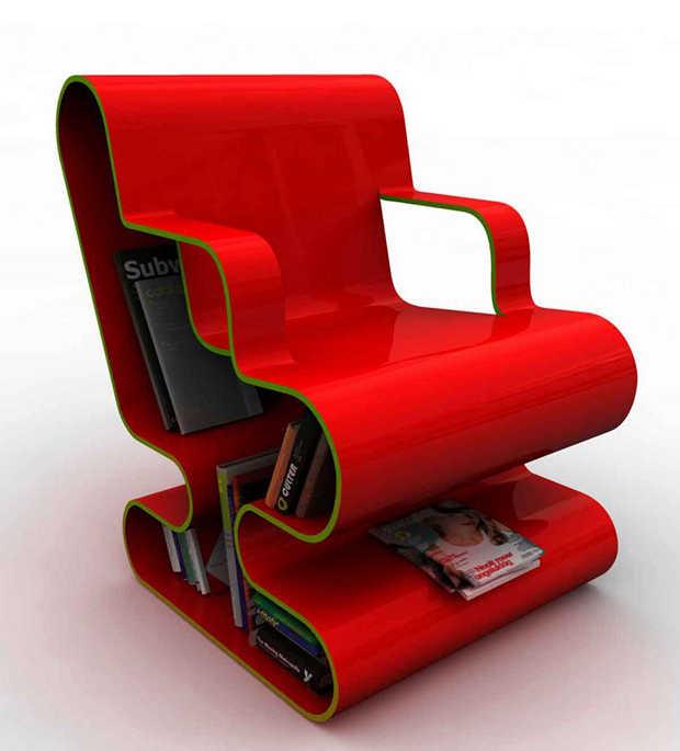 bookshelf-modern-chair-futuristic