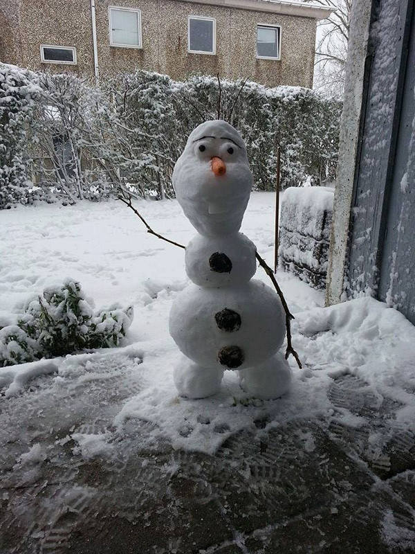 35 Creative, Funny Snowman Pictures for Winter Fun