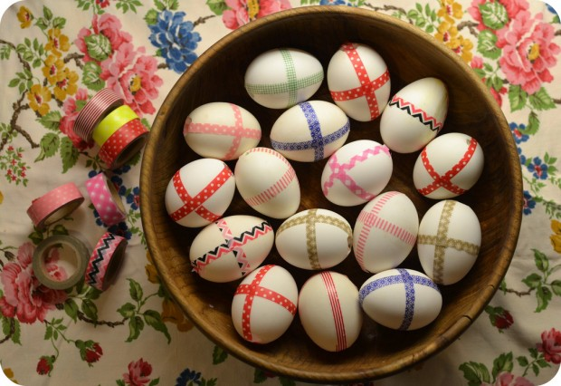Bristol-Parenting-Cafe-Washi-tape-easter-eggs-decorated-eggs
