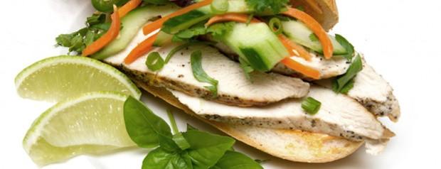Chicken Bahn Mi Sandwich Recipe