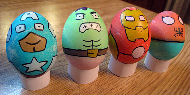 The Eggvengers – Easter Egg Avengers!