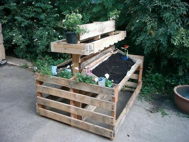 ideas pallets raised garden beds (22)