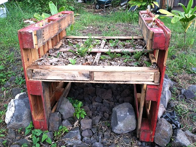ideas pallets raised garden beds (3)