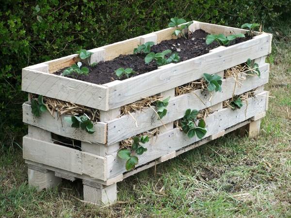 ideas pallets raised garden beds (6)