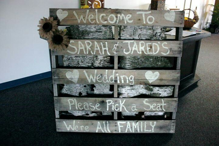 Welcome to wedding pallet