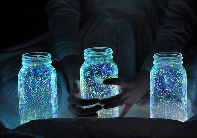 Glowing Firefly Mason Jar Craft idea