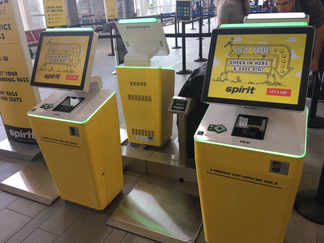 Booking with Spirit Airlines Review