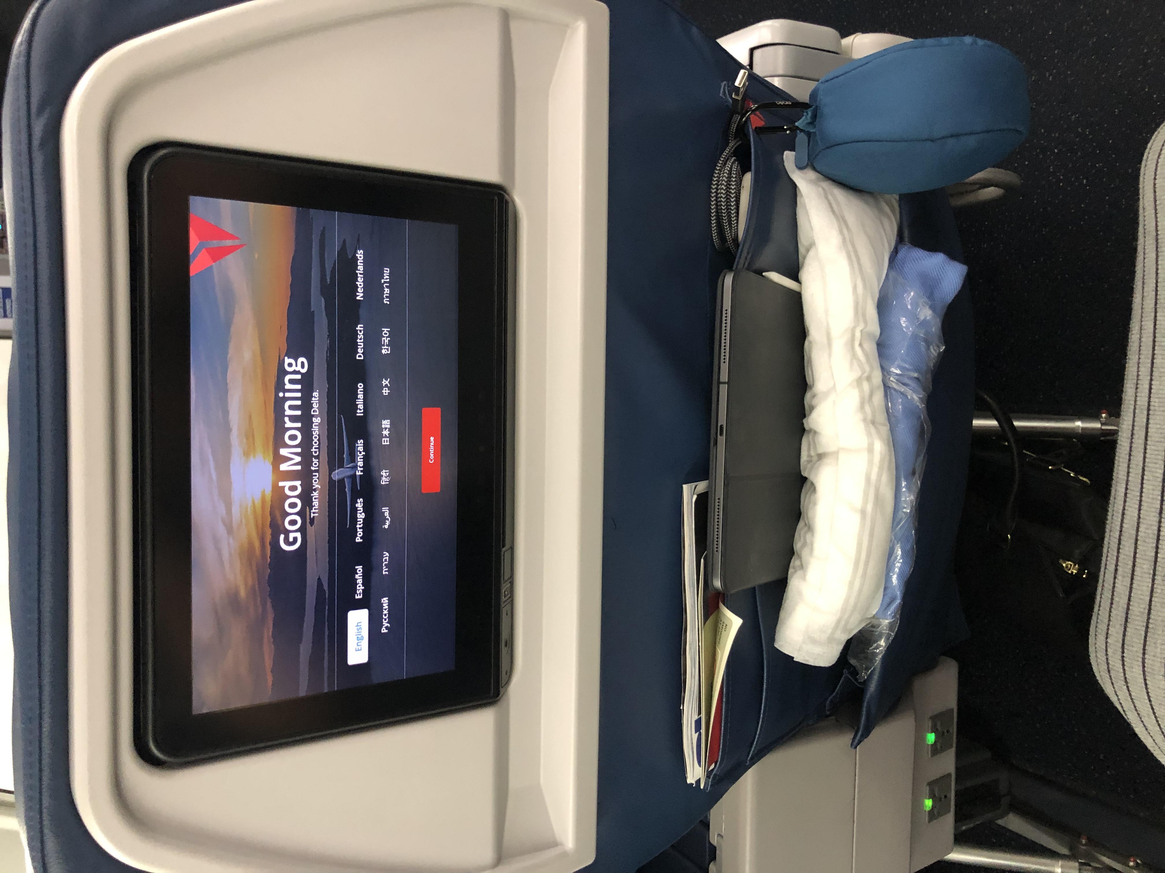 Delta First Class Review