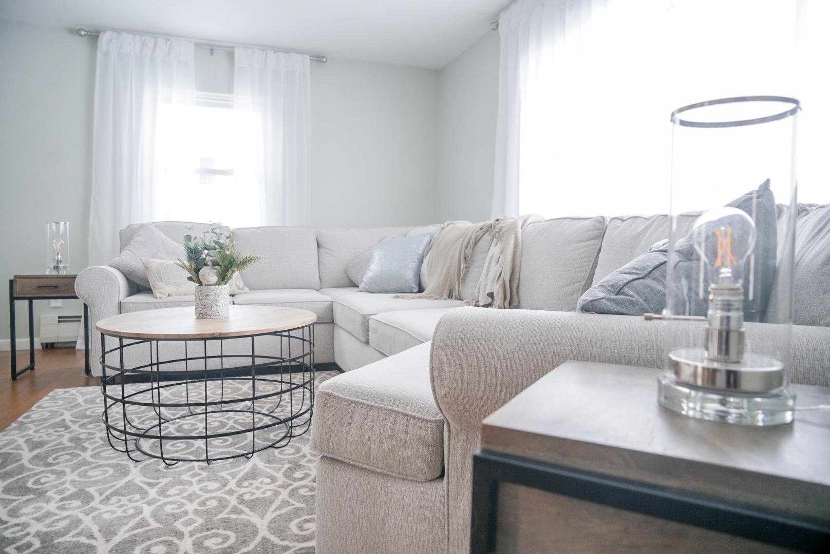 Light, Bright & Airy Living Room Design
