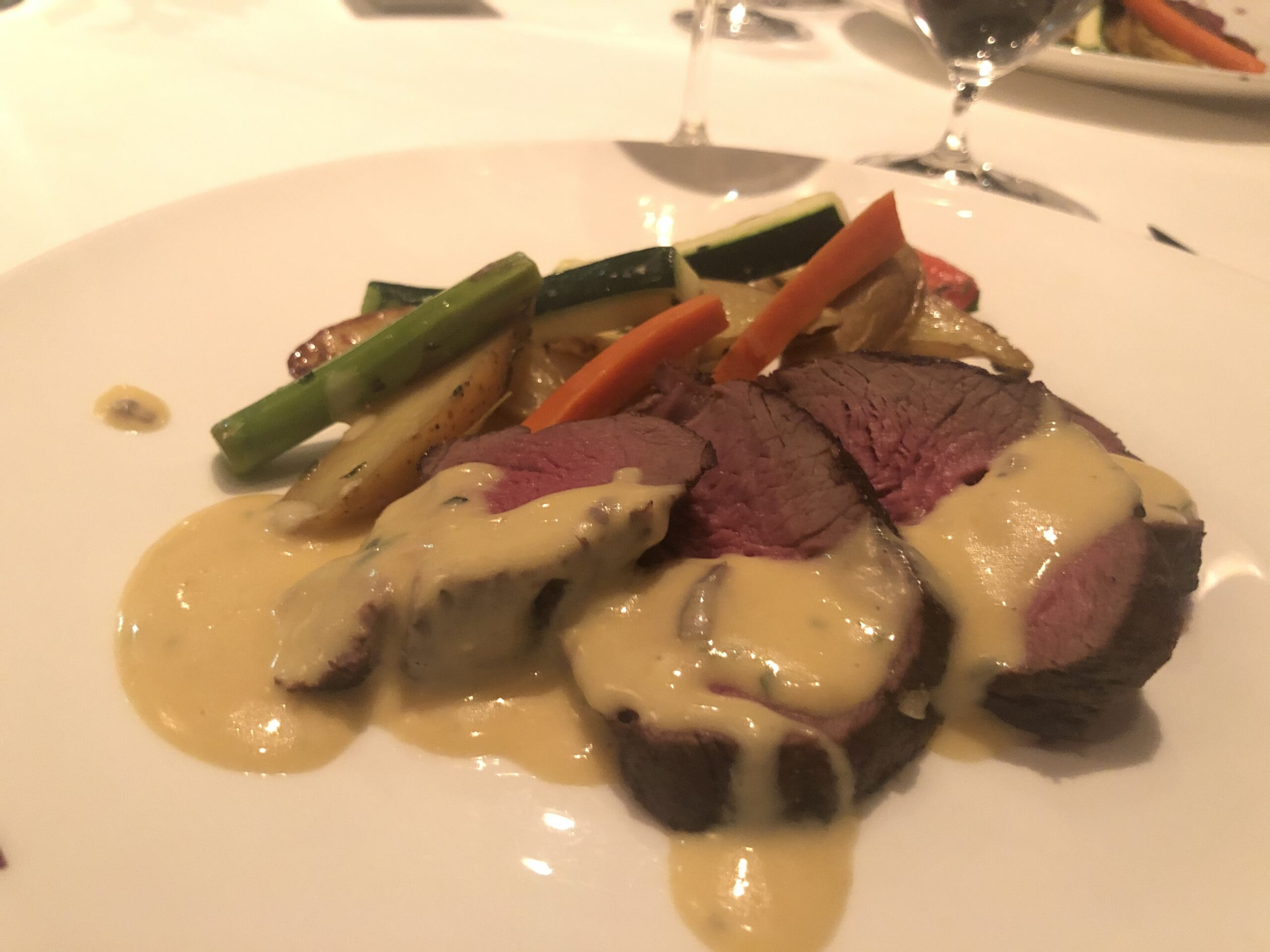 Celebrity Cruises Murano Dinner Review
