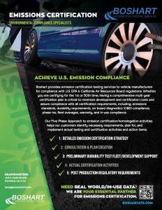 Emissions Certification Services One Sheet