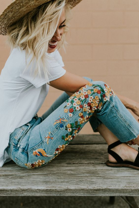Summer jean staples