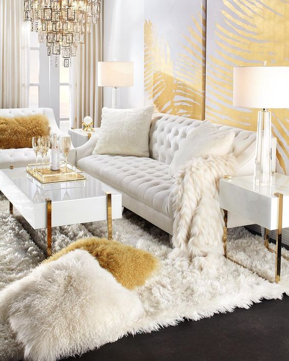 Glam Touches to Make Your Home NYE Ready