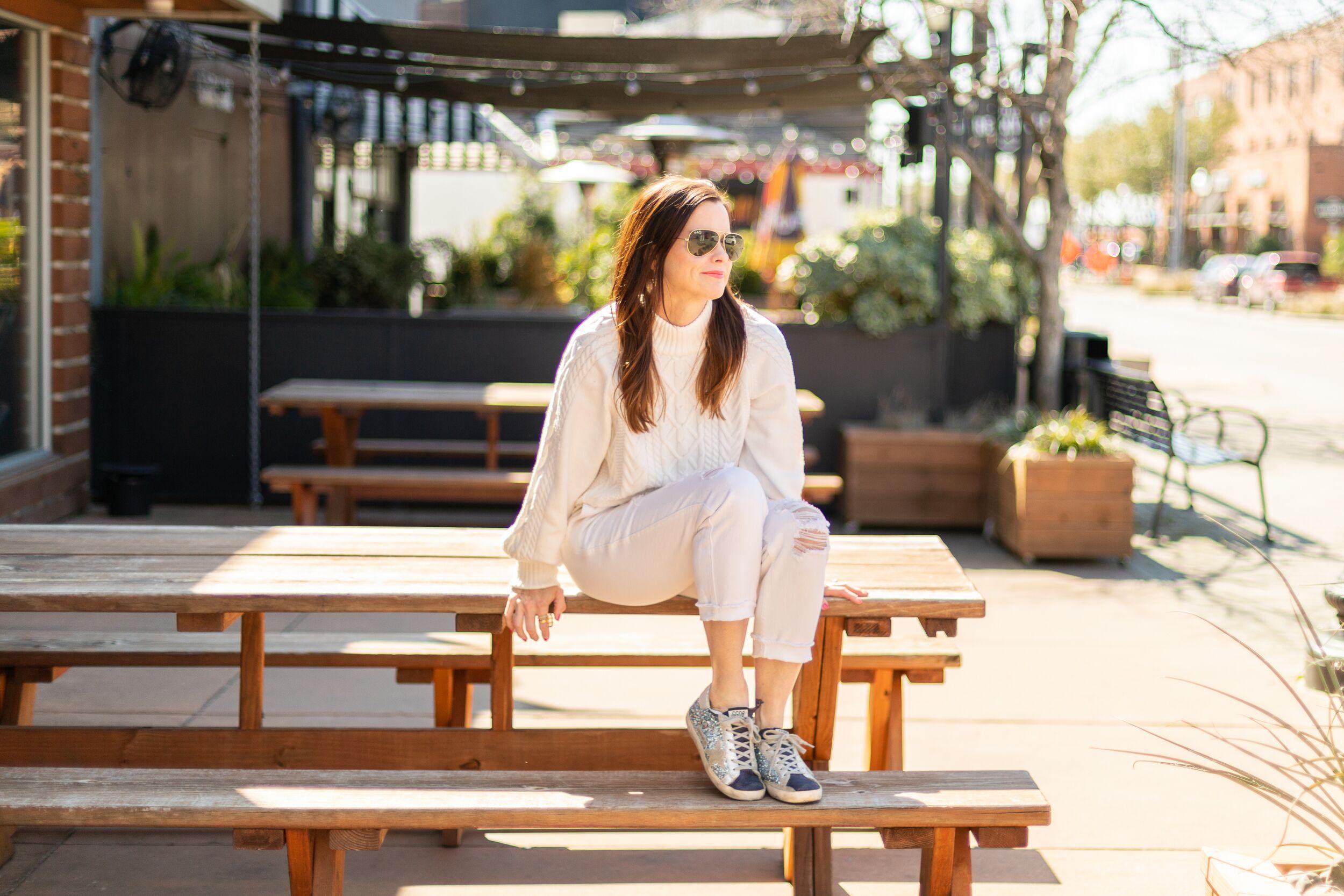 White on White ~ Chic + Versatile Style