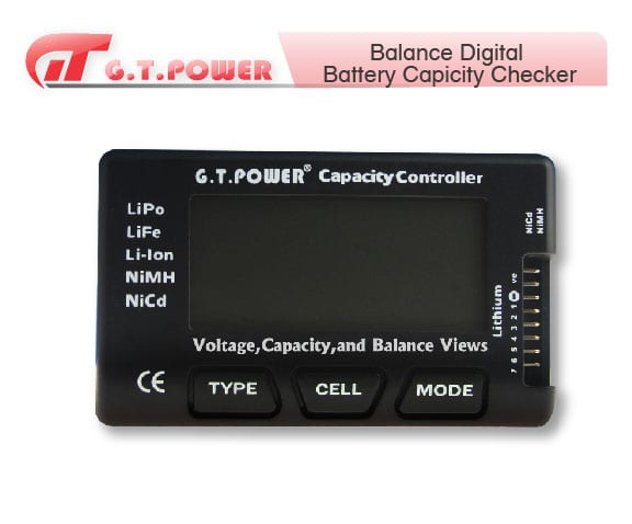 GT Power Voltage, Capacity and Balance Checker