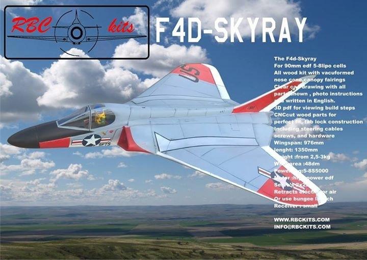 RBC F4D Skyray 90mm Kit - FAN JETS USA