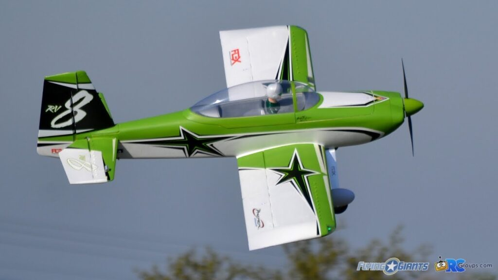 RV-8 SUPER PNP Green o