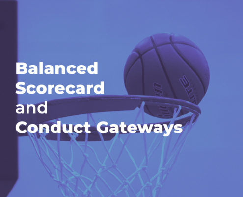 How balanced scorecard and conduct gateways can be used to improve the culture