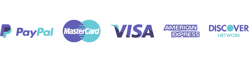 Cognitive View accepted payment methods PayPal, Master Card, Visa, American Express, Discover Network