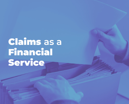 CV Blog Claims as a Financial Service