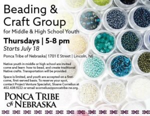 Project Venture Beading Group-Lincoln