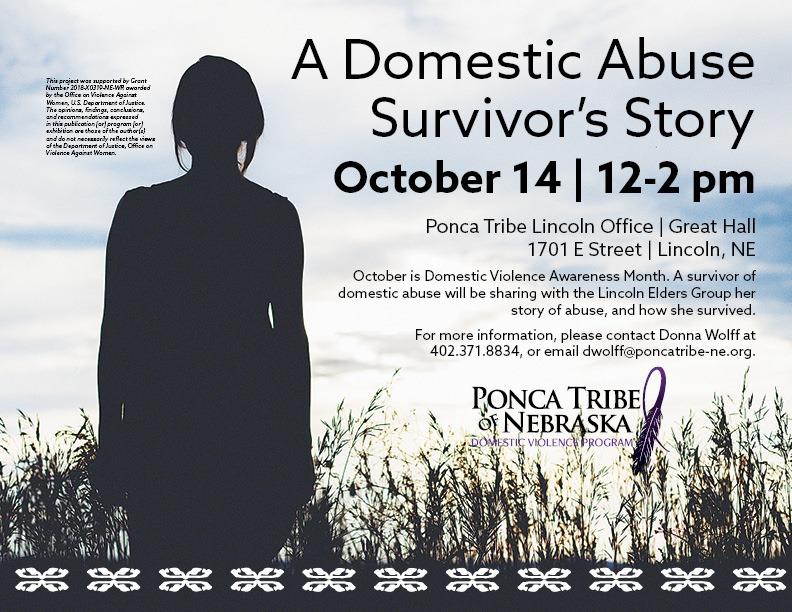 A Domestic Abuse Survivor's Story