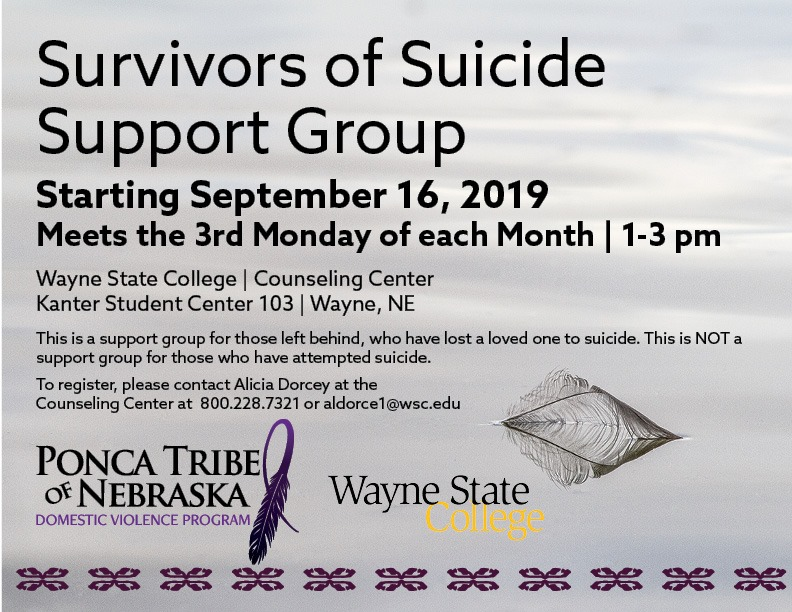 You are currently viewing Suicide Support Group to begin in September
