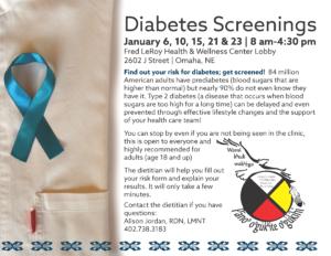 Diabetes Screenings – Omaha