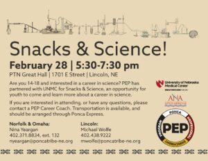 Snacks & Science!