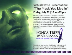 "Virtual Movie Presentation: ""The Mask You Live In"""