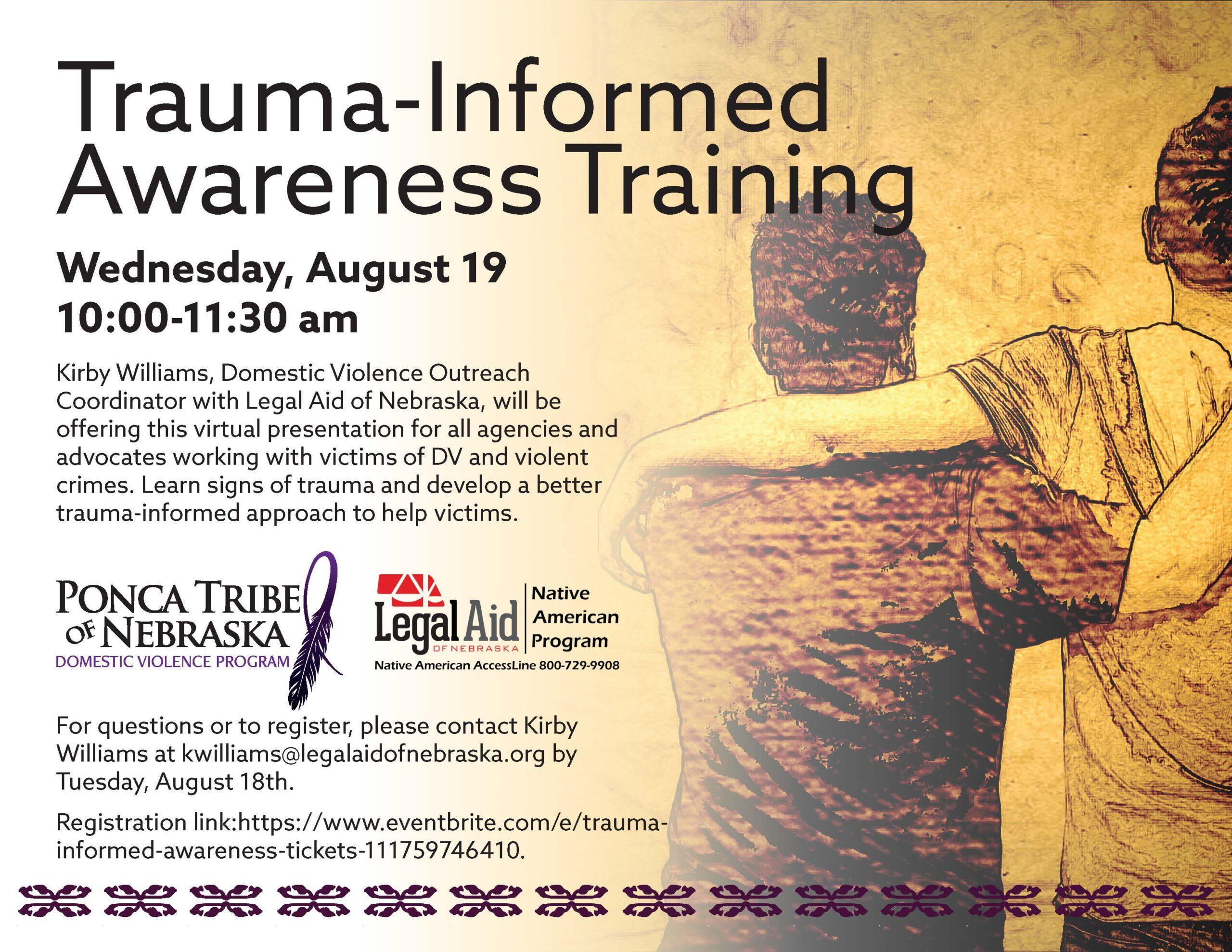 Trauma Informed Awareness Training