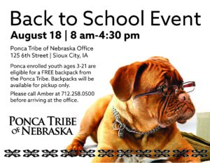 Sioux City Back to School Event