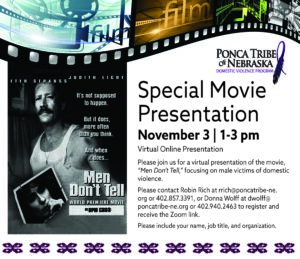 Special Movie Presentation: Men Don't Tell