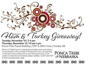 District 2 Ham & Turkey Giveaway