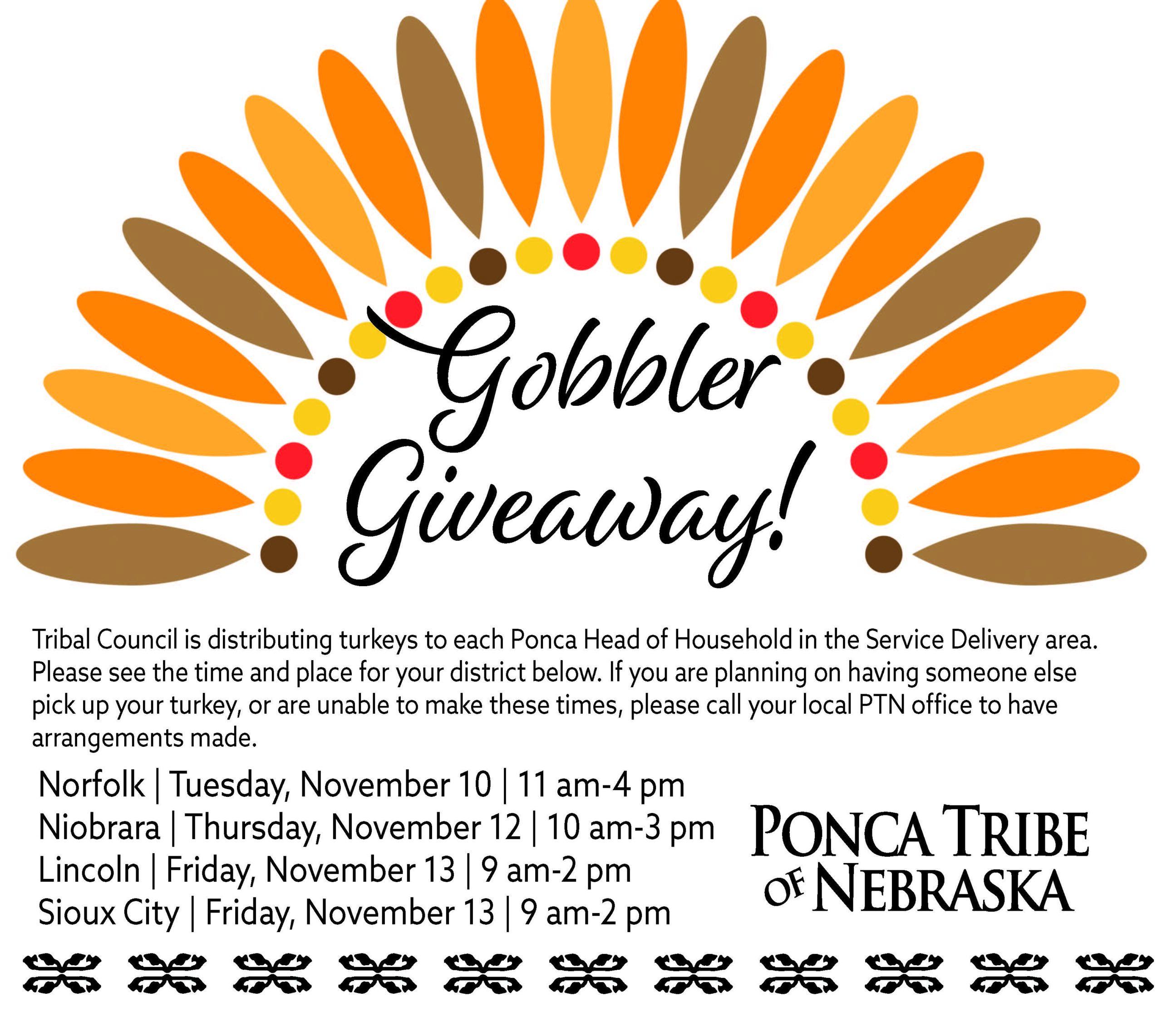 Gobbler Giveaway