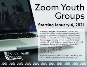 Zoom Youth Groups – Omaha