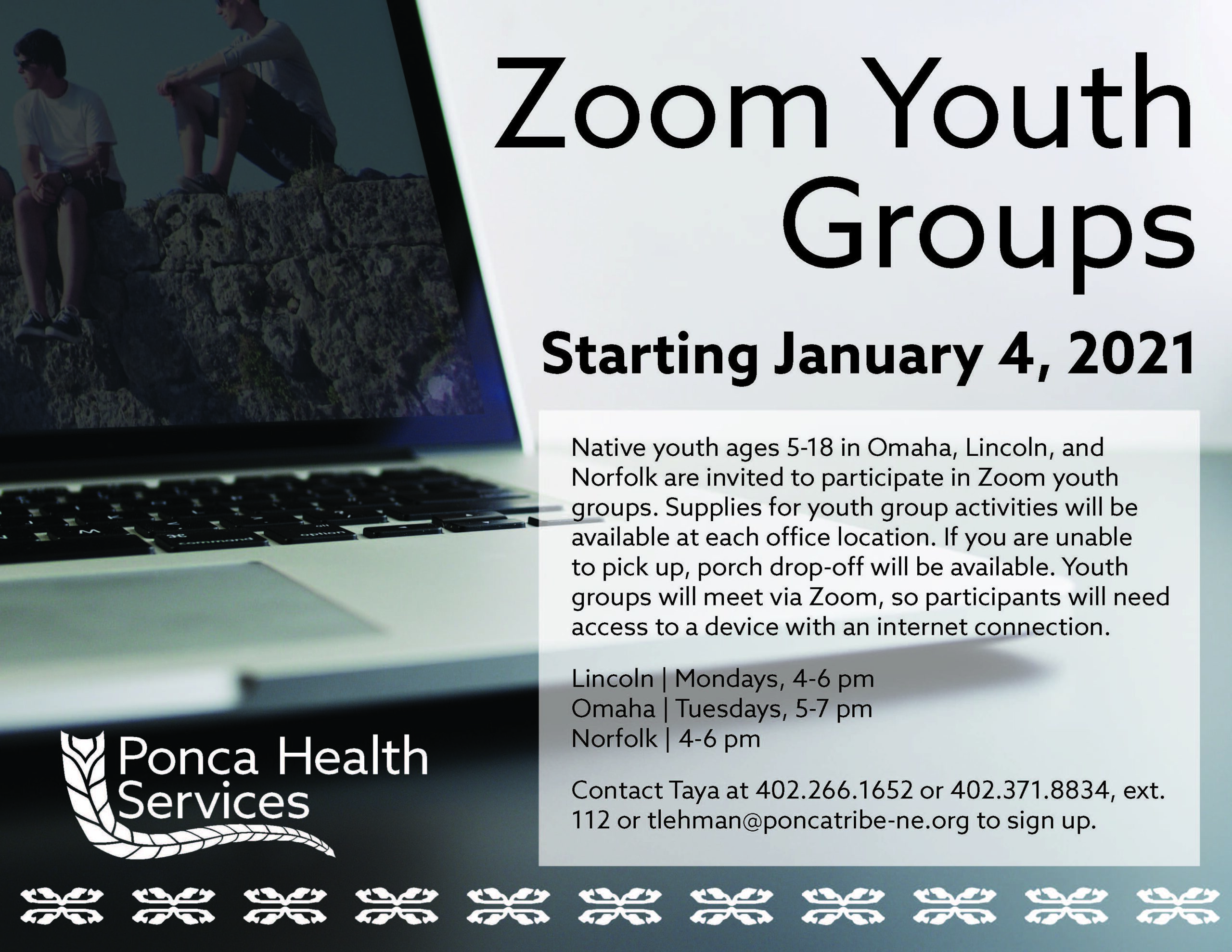 Zoom Youth Groups