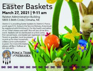 District 2 Easter Baskets